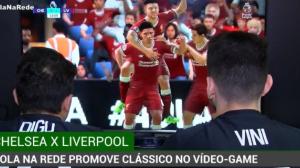 Chelsea e Liverpool se enfrentam no videogame com profissionais de e-sports