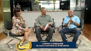 Confira a homenagem de Caju e Castanha ao Ritmo Brasil