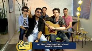Prazer em Conhecer: Banda V� Gringa espalha sucessos do sul por todo o pa�s