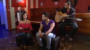 Faa Morena recebe Israel Novaes e faz quiz sobre o ritmo 'arrocha' (1)