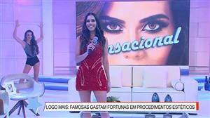 """Daniela Albuquerque abre o programa ao som de """"Let's Twist Again"""""""