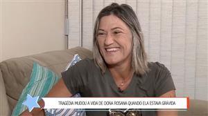 Atropelada aos 7 meses de gestação, mãe é homenageada em lição de superação