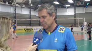 "José Roberto Guimarães fala sobre amistoso contra a Polônia: ""Grande teste"""