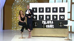 Luiza Tomé enfrenta polêmicas no quadro 'Palavra-Chave'
