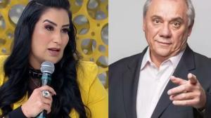 Fabíola Gadelha relembra última conversa com Marcelo Rezende