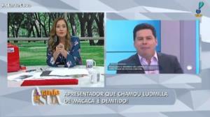 Ludmilla: Apresentador demitido pede perdão e diz que não foi racista