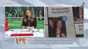 Marcelo e Gimenez: A Tarde é Sua procura repórter de falsa notícia