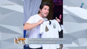 Daniel estreia no Carnaval de SP
