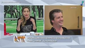 """""""Na memória do público fica marcado"""", diz Sonia Abrão sobre Victor"""