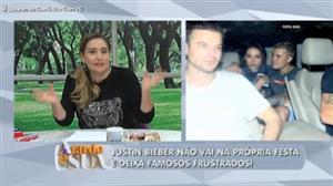Famosos ficam frustrados em festa de Justin Bieber