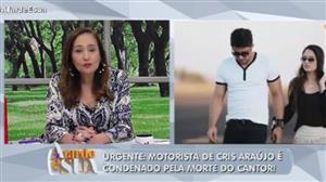Motorista de Cristiano Araújo poderá cumprir pena em casa