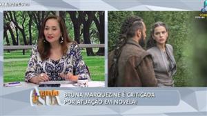 """""""Ela está bem esquisita"""", diz Sonia Abrão sobre Marquezine"""