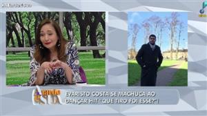 Evaristo Costa se deu mal ao brincar com hit do verão