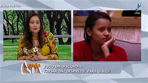"""""""Está se isolando no jogo"""", diz Sonia Abrão sobre mudança de Gleici no BBB"""