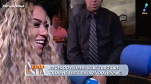 """""""Tem mais cabelo que altura"""", dispara Felipeh sobre irmã de Neymar"""