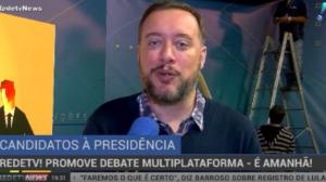 RedeTV! promove debate multiplataforma nesta sexta-feira, às 22h