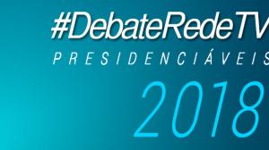 RedeTV! promove debate entre os candidatos à Presidência hoje, às 22h