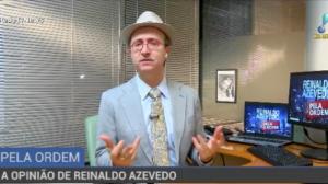 """""""Não está nada definido"""", afirma Reinaldo Azevedo sobre as eleições"""