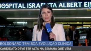 Bolsonaro tem boa evolução clínica, diz boletim médico