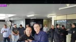 Jair Bolsonaro visita o Bope nesta segunda-feira (15)