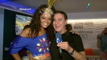 Amaury Jr. mostra os bastidores do Carnaval do RJ
