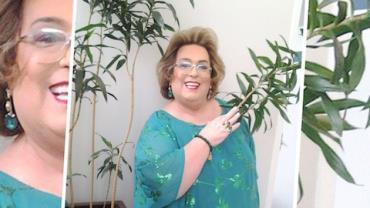 Afastada da TV, Mamma Bruschetta aprende a nadar e perde dez quilos