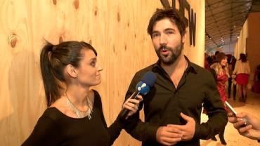 Sandro Pedroso emagrece 10 quilos para fazer cena de sunga