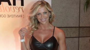 Karina Bacchi confessa que 'esconde' o marido e que � ciumenta