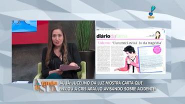 Vidente diz que mandou carta sobre a trag�dia de Cristiano Ara�jo (1)