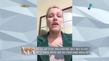 Mulher diz que Cristiano Ara�jo pode ser pai de seu filho (1)