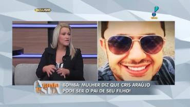 'Me arrependo do v�deo', diz m�e de suposto filho de Cristiano Araujo (2)