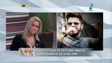 'N�o quero dinheiro', revela m�e de suposto filho de Cristiano Ara�jo (5)