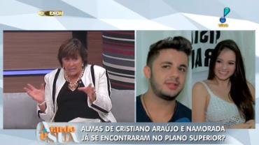 Sensitiva diz que C. Ara�jo e Allana podem j� ter se encontrado (5)
