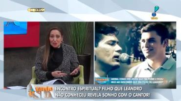 Filho que Leandro n�o conheceu revela ter sonhado com o cantor (6)