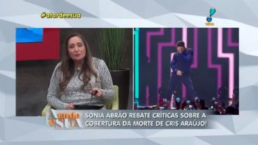 Sonia Abr�o rebate cr�tica de Maur�cio Stycer: 'N�o entende nada de TV' (1)