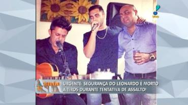 Seguran�a de Leonardo aparece em fotos com Cristiano Ara�jo (8)