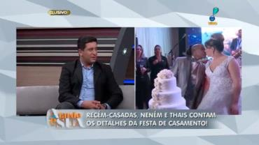 'Foi um casamento farto', diz cerimonialista sobre festa de Nen�m (6)
