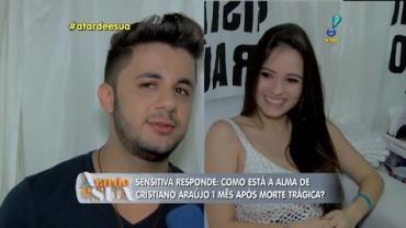 'Cristiano Ara�jo e Allana est�o bem', garante sensitiva (2)