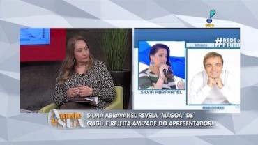 Silvia Abravanel revela m�goa de Gugu e rejeita amizade do apresentador (2)
