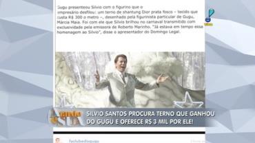 Silvio Santos oferece R$ 3 mil por terno que ganhou do Gugu (4)