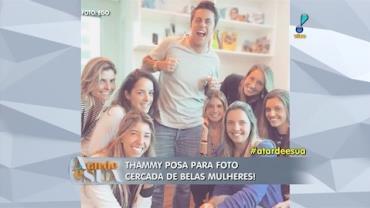 Sonia Abr�o sobre Thammy: 'belo rapaz, mas ainda com cintura feminina' (2)