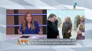 Saiba tudo sobre o encontro de Silvio Santos e Edir Macedo (1)