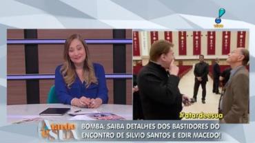 Veja os bastidores do encontro de Silvio Santos e Edir Macedo (2)