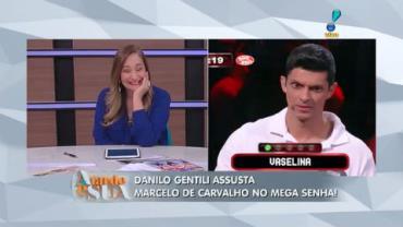 Danilo Gentili faz p�blico cair na gargalhada com dica no Mega Senha (5)