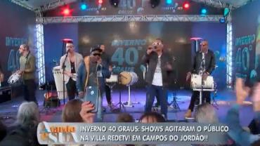 Shows agitaram o p�blico da RedeTV! no Inverno 40 Graus (7)