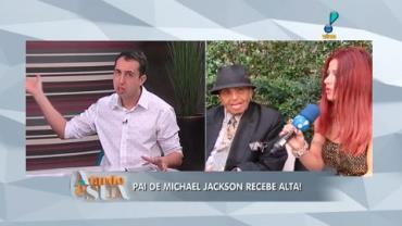 Joseph Jackson recebe alta de hospital em S�o Paulo (9)