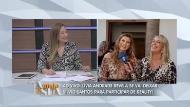 Troca de emissora? L�via Andrade fala para o 'A Tarde � Sua' (6)