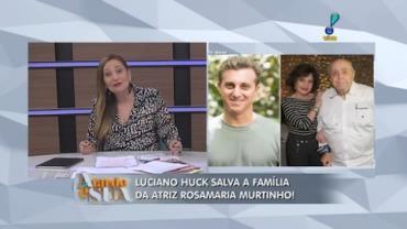 Filho de Huck e Ang�lica foi quem ouviu gritos dos netos de atores (7)