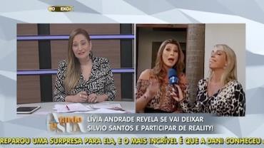 'Ou � oito ou � 80', diz L�via Andrade sobre troca de emissora (4)