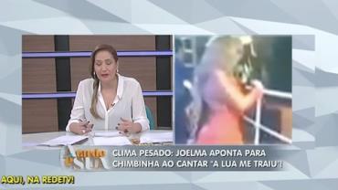Ira em show: Joelma aponta para Chimbinha em 'A Lua me Traiu' (5)